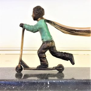 A Time for Super Heroes Bronze 16cm x 28cm x 12cm