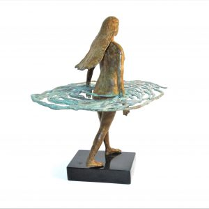 At Dawn Back View  Limited Edition Bronze