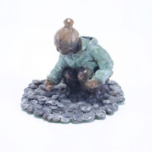 At Play Limited Edition  Bronze 9cm x 12cm x 10cm