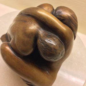 Lovers above Limited Edition Bronze 15cm x 25cm x 20cm