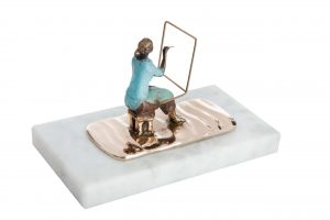 Window of her Soul Limited Edition Bronze 11cmx18cm x 10